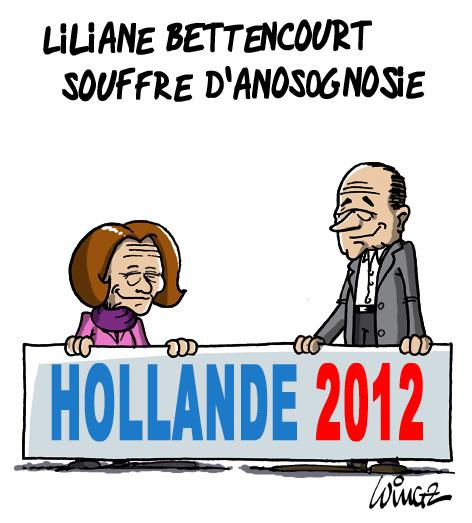 liliane bettencourt souffre s'anosognosie