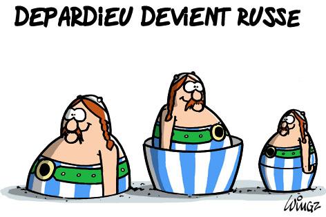 depardieu devient russe