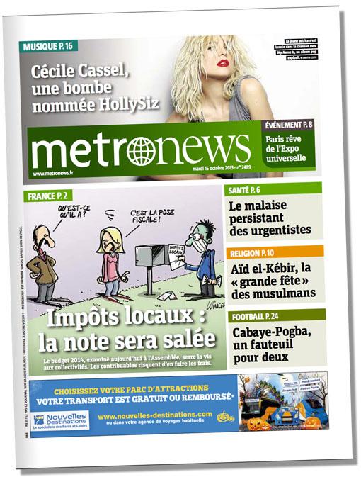 metro 15 octobre 2013