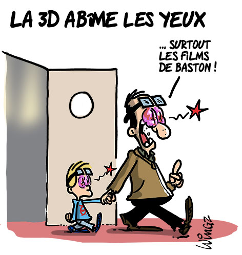 films 3D baston