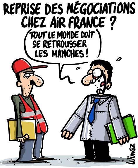 chemise drh cce licenciements air france