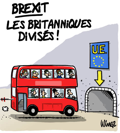 dessin humour brexit europe