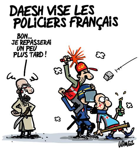 police cgt hooligans