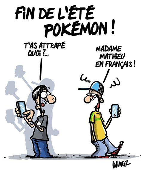 pokemon go humour dessins
