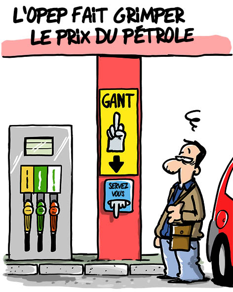 hausse prix essence
